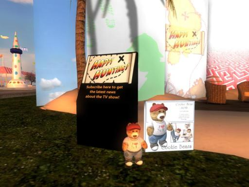 SL9 Birthday Bear at the Happy Hunting! kiosk